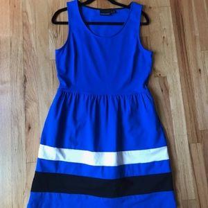 Cynthia Rowley Fit & Flare Dress Size L